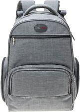 Big Stylish Diaper Bag Backpacks by QuLbaby - Designer Unisex Baby Organiser