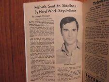 May-1962 St. Louis TV Maga(GEORGE MAHARIS/POLLY BERGEN/DOBIE GILLIS/YVES MONTAND
