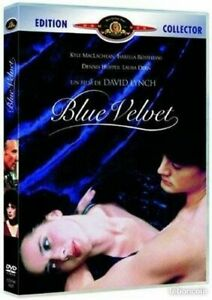 DVD - BLUE VELVET / LYNCH, MACLACHLAN, ROSSELLINI, EDITION COLLECTOR, MGM, NEUF
