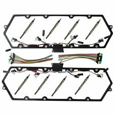 Valve Cover Gaskets With Harness Glow Plug Set Fits 7.3L Ford Powerstroke 99-03
