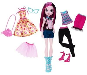Monster High Puppe Draculaura Lots Of Looks Neu Ohne Box