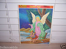 GUARDIAN ANGEL Frame-Tray Puzzle 12-Piece Bright Star Series