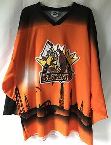 Rare Vintage OT El Paso Buzzards Hockey Jersey Adult XXXL-G