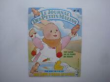 Carton publicitaire dessin animé Le journal Des Les Petits Malins Maple Town