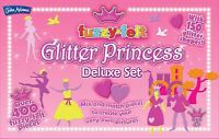 Fuzzy-Felt Glitter Princess Set
