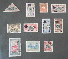 Classic Liberia mini-collection of 11 mint/used stamps