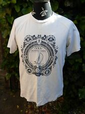 ADIDAS LONDON 2012 OLYMPIC GAMES SAILING T SHIRT SIZE L WHITE COTTON