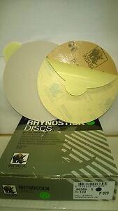 "320's DA STICKY DISCS INDASA RHYNOSTICK 6"" OR 150MM BOX OF 100 ORBITAL SANDER"