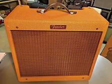 Fender Tweed Blues Jr. Amp LTD. With C12N Jensen Tone Mods, Input Jack, Standby