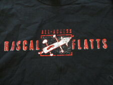 "Rascal Flatts Local Crew ""All Access"" Concert Tour (Lg) T-Shirt"