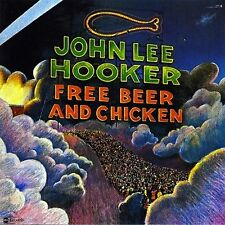 JOHN LEE HOOKER Free Beer and Chicken ABC RECORDS Sealed Vinyl Record LP