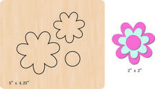 New Flowers Wooden die fit Big Shot  Scrapbooking D-680