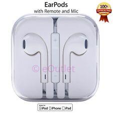 100% Genuine Apple Headphones Earphones Earpods With Mic For iPhone 6S 6 5S 5