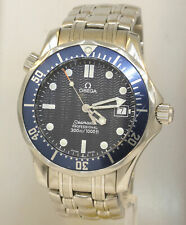 MEN'S STAINLESS STEEL OMEGA SEAMASTER PROFESSIONAL WATCH!  WORKS FINE! #M1