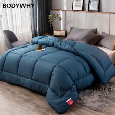 Double Duvet Insert Bedding Thick Warm Autumn  Winter Duvet Blanket Sanded Knits