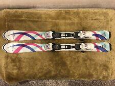 Blizzard Viva Junior IQ Downhill Kids Snow skiis 100cm W/ Blizzard 4.5 Bindings