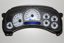 1A) 03-04 2003-2004 FACTORY REMANUFACTURED CUSTOM SS GAUGE FACE COMPLETE CLUSTER