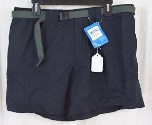 "Columbia Women's Sandy River Cargo Short Black Size XL 6"" Inseam"