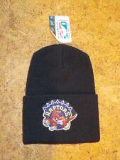 Vintage-Bonnet long de l'équipe des RAPTORS  - Noir - Taille unique - Neuf