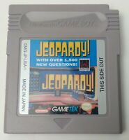 Jeopardy! (Nintendo Game Boy, 1991) - Cartridge Only