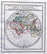 Antique map, Der Alte Welt Begriff ..