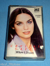 MADE IN INDONESIA:CRYSTAL GAYLE - When I Dream,TAPE,Cassette,RARE