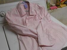 Womens GAP Maturnity Stretch Pink Button Down Long Sleeve Casual Shirt