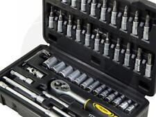 46pc 1/4 Drive Socket Phillips Torx Hex Screwdriver Set Bicycle Repair Tool Kit