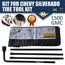 For Chevy Silverado Tahoe Spare Tire Tool Kit GMC Sierra Yukon Avalanche Escalad