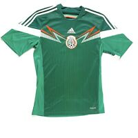 Adidas Men's Soccer Jersey, Mexico National Soccer Green Climacool, Size Small
