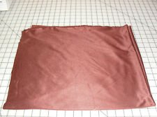 Brown stretchy fabric shiny 2 pieces 1 yard each