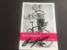 MARKUS BURGHARDT signed Autogrammkarte 10x15 T-Mobile Team TOUR DE FRANCE