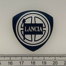 Lancia bonnet boot hood ? plaque badge emblem sign decal 1980s/90s SMALL 35mm