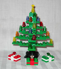 "NEW 5"" GREEN CUSTOM LEGO CHRISTMAS TREE & GIFTS, PRESENTS"