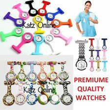 New Silicone Nurse Watch Medical Doctor Fashion Brooch Tunic Analog Fob Watch