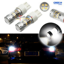 2x High Power HID White 140W 28-CREE 7440 7444 LED Backup Reverse Lights Bulbs
