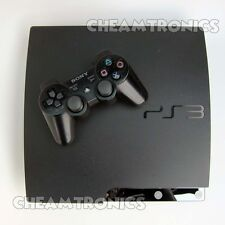 Sony PlayStation 3 Slim 120GB - System Firmware PS3 3.55 OFW Good Condition
