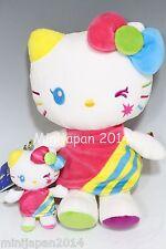 Hello Kitty USJ 15th anniversary reborn edition plush & charm set Original Japan