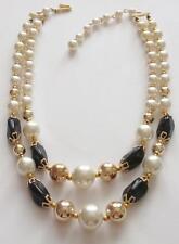Pearl Glass Vintage Costume Jewellery (1950s)