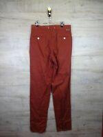 vtg 90s Deadstock New Stone Island chino red denim Jeans Trousers RARE  RefA24