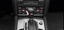 2 x Audi S-line Aufkleber für Schaltknauf A4 A5 A6 A7 S3TT Q5 Q7 Emblem Logo A