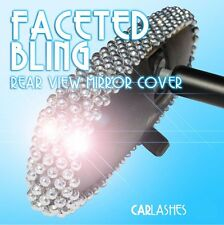 Rear View Mirror Cover Bling Faceted Sparking Gems by Car Lashes (R) for Ford