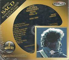 Dylan, Bob Greatest Hits Vol. 2 DCD Hybrid-SACD Audio Fidelity NEU OVP Sea. Lit