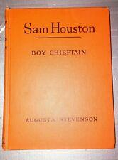 Sam Houston Boy Chieftain