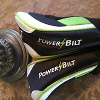 Power Bilt Golf Club Head Cover Set of 2
