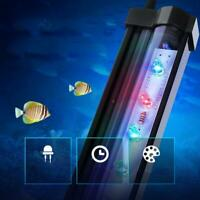 LED Aquarium Luftblase Aquarium Lichter Multi-Color-Tauchlampe Decor J9Q2 P2F7