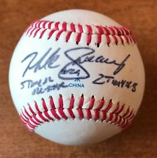 Mike Sweeney Signed LITTLE LEAGUE Baseball JSA COA INSCRIBED 5 Time ALL STAR