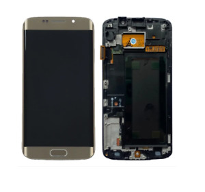 Samsung Galaxy S6 Edge G925F Display Touch Screen Digitizer Replacement Gold