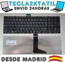 TECLADO PARA TOSHIBA SATELLITE Pro L870D Pro L875 Pro L875D ESPAÑOL Ñ