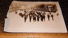 "Antique WW1 ""VICTORY DAY JULY 14, 1919 AT ARCH OF TRIUMPH"" Parade Photograph"